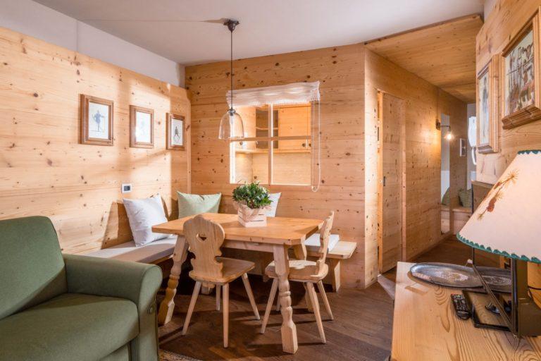 dove alloggiare in alta badia appartamento col alt residence neve sole immagine 9