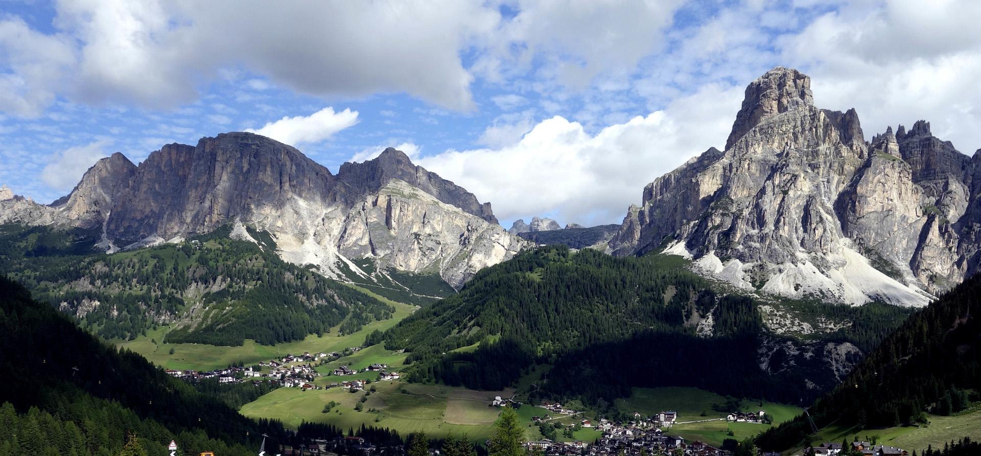 Sassongher e Sas Ciampac  Alta Badia